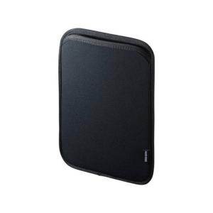iPad 9.7インチ 用  スリップインケース サンワサプライ PDA-IPAD1003BK|konan