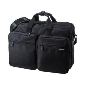 3WAYビジネスバッグ(出張用・大型) サンワサプライ BAG-3WAY22BK|konan