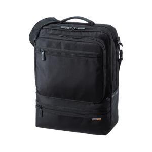 3WAYビジネスバッグ(縦型・通勤用) サンワサプライ BAG-3WAY23BK|konan