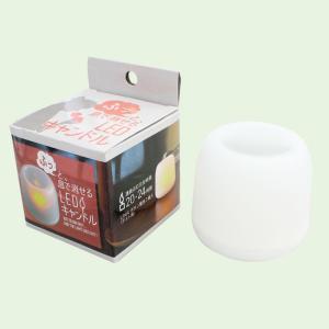 ふっと息で消せるLEDキャンドル コンパクト 灯り 明るい ミニライト 災害時 停電 小さい インテリア 雑貨 部屋 室内 アーテック  73923 konan