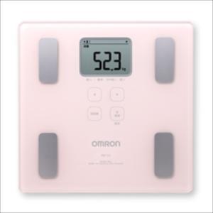 オムロン 体重体組成計(両足測定タイプ) HBF-214-PK|konan