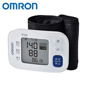 手首式血圧計 電池式 自動血圧計 血圧測定器 手首式 1人分 60回 メモリー 平均値表示 薄型 軽量 持ち運び 旅行 見やすい ホワイト オムロン HEM-6180|konan
