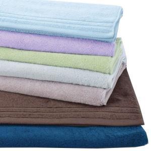 タオル バスタオル ミネラル 70x140cm バス 浴用タオル 綿100% シンプル 無地 カラータオル 無地タオ|konan