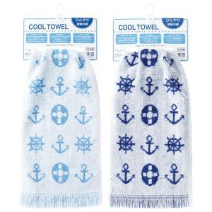 COOL TOWEL クールタオル 全2色 冷却タオル 冷感タオル タオル GW 夏 涼しい スポーツ アウトドア 日繊商工 CO-1004|konan