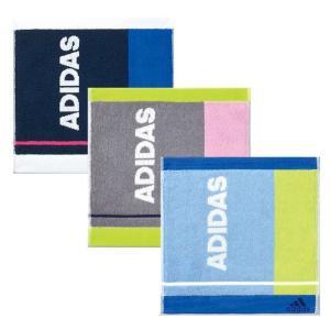 adidas タオルチーフ ルナーク 25x25cm アディダス ミニタオル フルフィールコットン 抗菌 防臭 Ag Fresh|konan