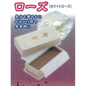 木箱入 お線香 ローズ 富士パックス a273-ja|konan