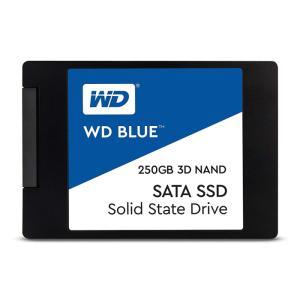 SSD WD BLUE 内蔵SSD 2.5インチ 250GB SATA3.0 5年保証 ソリッドステートドライブ ウエスタンデジタル Western Digital WDC-WDS250G2B0A|konan