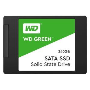 SSD WD GREEN 内蔵SSD 2.5インチ 240GB SATA3.0 3年保証 ソリッドステートドライブ ウエスタンデジタル Western Digital WDC-WDS240G2G0A|konan