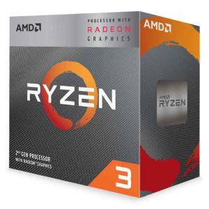 CPU デスクトップパソコン用 AMD Ryzen 3 3200G with Wraith Stealth Cooler BOX AMD YD3200C5FHBOX|konan