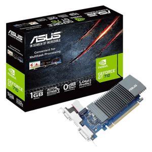 グラフィックボード ビデオカード ファンレス設計でノイズゼロを実 ASUSTeK COMPUTER ASU-GT710-SL-1GD5-BRK|konan