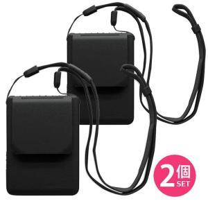 あすつく 携帯型(首かけ)扇風機 首掛け扇風機 マイファンモバイル ブラック 首もとに送風 熱中症対策 2台セット マジクール Magicool 大作商事 MM1BKX2|konan