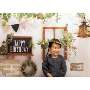 イエスタ Happy Birthday カントリーガーデン フォトポスター インスタ ポスター 壁紙 背景 記念 写真 撮影 クリアストーン CSSET-04|konan