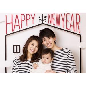 イエスタ Happy New Year フォトポスター インスタ ポスター 壁紙 背景 記念 写真 撮影 クリアストーン CSSET-16|konan
