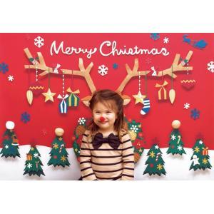 イエスタ ハッピークリスマス フォトポスター インスタ ポスター 壁紙 背景 記念 写真 撮影 クリアストーン CSSET-17|konan