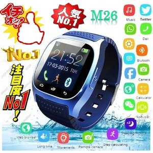 e1127afcda スマートウオッチ、Android/iOS、音声通話、置忘れ機能、撮影、メッセージ、音楽、温度計、海抜計、歩…