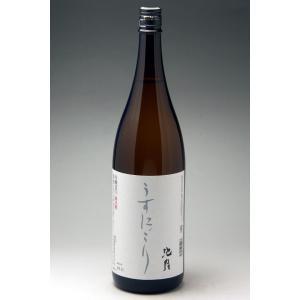 中能登町 池月 本醸造うすにごり 1800ml|konchikitai