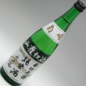 石川県の地酒 菊姫 山廃純米呑切原酒 無濾過 720ml