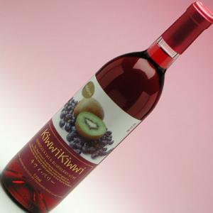 マリッジワイン キウィベリーワイン 赤/甘口 720ml|konchikitai