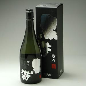 黒帯 山廃純米 堂々 720ml|konchikitai