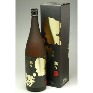 黒帯 純米吟醸 飄々 1800ml|konchikitai