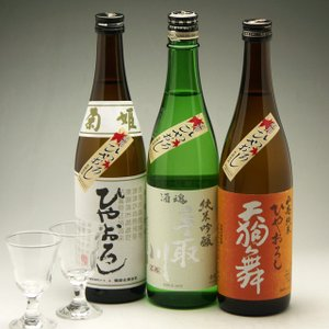 石川のひやおろし 人気蔵飲み比べ ひやおろし純米三種セット|konchikitai