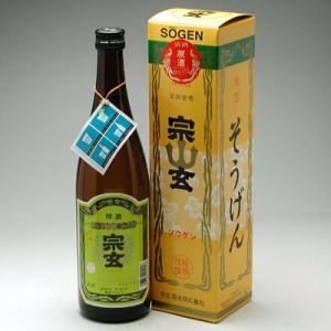 能登の地酒 宗玄 上選原酒 720ml|konchikitai