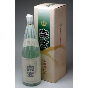 能登の地酒 宗玄 吟醸酒剣山 1800ml|konchikitai