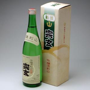 能登の地酒 宗玄 吟醸酒剣山 720ml|konchikitai