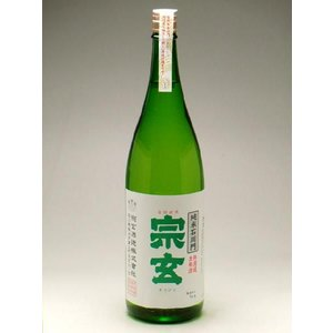 宗玄 純米石川門 無濾過生原酒 1800ml|konchikitai