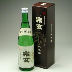 能登の地酒 宗玄 純米酒 720ml|konchikitai