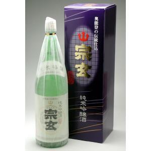 能登の地酒 宗玄 純米吟醸 1800ml|konchikitai