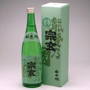 宗玄 純米酒 能登乃国 720ml|konchikitai