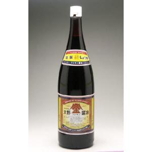 金沢・大野 フジキン醤油<金>1800ml|konchikitai