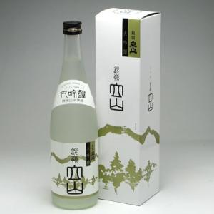 立山酒造 銀嶺立山 大吟醸 720ml|konchikitai