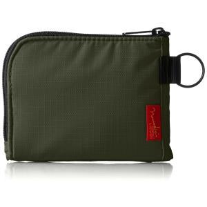 [ノーマディック] 財布 小銭入れ L字型コンパクト財布 SA-08 カーキ