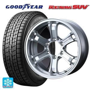 17インチ  プラド等  スタッドレス 265/65R17  グッドイヤー アイスナビSUV ウェッズ キーラーフォース  タイヤホイール4本|konishi-tire
