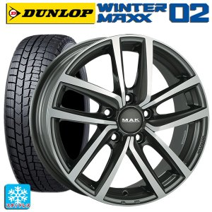 VW GOLF6(ゴルフ6) 2009年4月? スタッドレス 225/40R18 ダンロップ ウインターマックス02 ドレスデン タイヤホイール4本セ konishi-tire 01