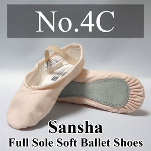 ■ 商品説明 Sansha(サンシャ)のフルソールバレエシューズです。  ■ 素材:表地/キャンバス...
