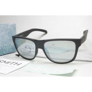 SMITH スミス 偏光サングラス ACTION POLAR SERIES 203370005 Lowdown XL Black X-Light Gray Green38 Silver Mirror (New)|konky