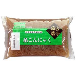 黒糸こんにゃく24個セット 国産原料 海藻入り 糸蒟蒻 すき焼き 鍋物 煮物|konnyaku-jp