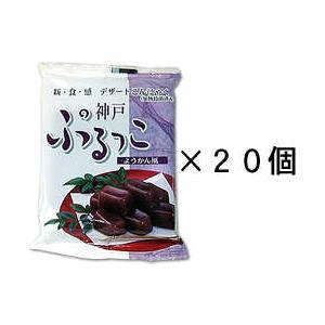 ぷるっこようかん20個セット|konnyaku-jp