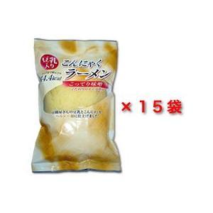こんにゃくラーメンこってり味噌お徳用15パック|konnyaku-jp