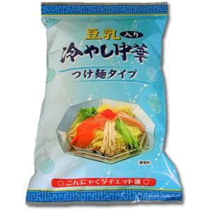 豆乳入りこんにゃく冷やし中華|konnyaku-jp