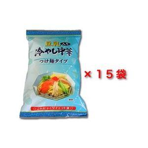豆乳入りこんにゃく冷やし中華お徳用15パック|konnyaku-jp