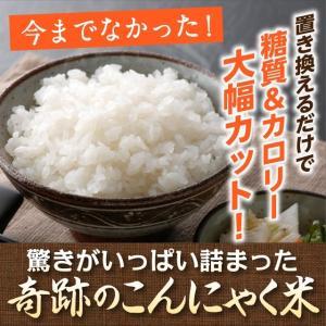 炊飯いらずのこんにゃく米【1食】全く新しいこんにゃくライス 温めるだけですぐに食べられます。|konnyakuclub