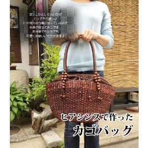 ウォーターヒヤシンス かごバッグ|konohana