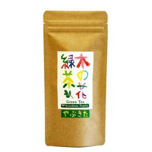 【新茶】木の花緑茶 やぶきた 100g ※2021年度(農薬・化学肥料不使用)|konohanafamily