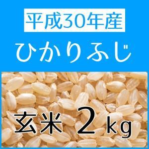 ひかりふじ(H30年産) 玄米 2kg|konohanafamily