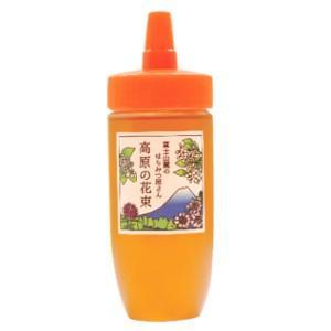 国産はちみつ 富士山麓のはちみつ屋さん 高原の花束 300g(チューブタイプ) ※無添加|konohanafamily