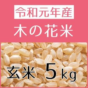 木の花米(H29年産) 玄米 5kg konohanafamily